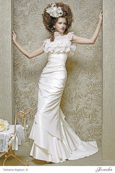 Свадебные платья, Tatiana Kaplun Бланка (узкая)