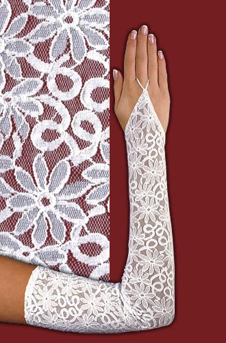 Гипюровые перчатки для девочки своими руками